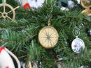 Handcrafted Model Ships CO-0606-XMASS Brass Emerson Poem Compass Christmas Tree Ornament