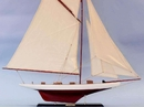 Handcrafted Model Ships Wooden Columbia Model Sailboat Decoration 45