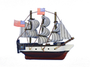 Handcrafted Model Ships CONSTITUTION 4-MAGNET Wooden USS Constitution Tall Model Ship Magnet 4