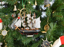 Handcrafted Model Ships Cutty Sark-7-XMASS Wooden Cutty Sark Model Ship Christmas Tree Ornament