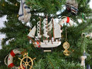 Handcrafted Model Ships Eagle-7-XMASS United States Coast Guard USCG Eagle Model Ship Christmas Tree Ornament