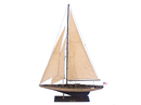 Handcrafted Model Ships ENT-R-35-RUSTIC Wooden Vintage Enterprise Limited Model Sailboat Decoration 35