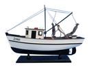 Handcrafted Model Ships FB221- Jenny Forrest Gump - Jenny Shrimp Boat 16