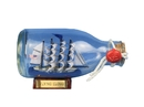 Handcrafted Model Ships FCBottle5 Flying Cloud Ship in a Glass Bottle 5