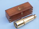 Handcrafted Model Ships FT-0215 Deluxe Class Solid Brass Admiral's Spyglass Telescope 27
