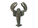 Handcrafted Model Ships G-54-792-BRONZE Antique Seaworn Bronze Cast Iron Wall Mounted Lobster Hook 5
