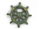 Handcrafted Model Ships K-005-bronze Antique Bronze Cast Iron Ship Wheel Bottle Opener 3.75