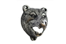 Handcrafted Model Ships K-0057-Silver Rustic Silver Cast Iron Bear Bottle Opener 4&Quot;
