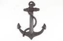 Handcrafted Model Ships K-0137-Cast-Iron Cast Iron Anchor 17&Quot;