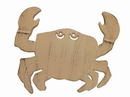 Handcrafted Model Ships K-0145A-AG Aged White Cast Iron Crab Trivet 11