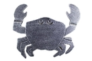 Handcrafted Model Ships K-0145A-silver Antique Silver Cast Iron Crab Trivet 11