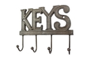 Handcrafted Model Ships K-0345-Cast-Iron Cast Iron Keys Hooks 8&Quot;