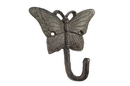 Handcrafted Model Ships K-0375-Cast-Iron Cast Iron Butterfly Hook 6&Quot;