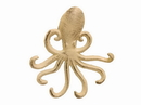 Handcrafted Model Ships K-0754-AG Aged White Cast Iron Wall Mounted Decorative Octopus Hooks 7