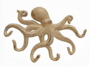 Handcrafted Model Ships K-0942-AG Aged White Cast Iron Octopus Hook 11