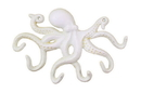 Handcrafted Model Ships K-0942-AW Antique White Cast Iron Octopus Hook 11