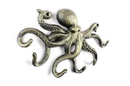Handcrafted Model Ships K-0942-gold Antique Gold Cast Iron Octopus Hook 11