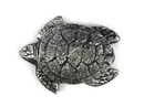 Handcrafted Model Ships K-1283-silver Antique Silver Cast Iron Decorative Turtle Bottle Opener 4
