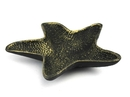 Handcrafted Model Ships K-1290-gold Antique Gold Cast Iron Starfish Decorative Bowl 8