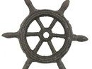 Handcrafted Model Ships K-1293-cast iron Cast Iron Ship Wheel Decorative Paperweight 4