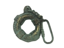 Handcrafted Model Ships K-1412A-bronze Antique Bronze Cast Iron Lifering Key Chain 5