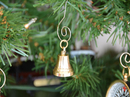 Handcrafted Model Ships K-228-XMASS Brass Plated Bell Christmas Tree Ornament