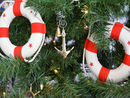 Handcrafted Model Ships K-232-XMASS Brass Admiralty Pattern Anchor Christmas Tree Ornament