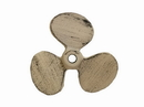 Handcrafted Model Ships K-49011-AG Aged White Cast Iron Propeller Paperweight 4