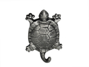 Handcrafted Model Ships K-528-silver Rustic Silver Cast Iron Turtle Hook 6