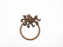 Handcrafted Model Ships K-9050-OCT-RC Rustic Copper Cast Iron Octopus Towel Holder 6