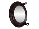 Handcrafted Model Ships MC-1963-12 AC - M Deluxe Class Antique Copper Porthole Mirror 12