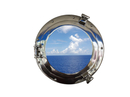 Handcrafted Model Ships MC-1964-15 CH - W Deluxe Class Chrome Porthole Window 15