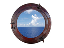 Handcrafted Model Ships MC-1965-20 AC - W Deluxe Class Antique Copper Porthole Window 20