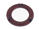 Handcrafted Model Ships MC-1966-17-AC-W Deluxe Class Antique Copper Porthole Window 17