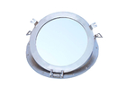 Handcrafted Model Ships MC-1966-17-BN-W Brushed Nickel Deluxe Class Decorative Ship Porthole Window 17