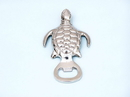 Handcrafted Model Ships MC-2125-CH Chrome Turtle Bottle Opener 5&Quot;
