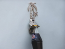 Handcrafted Model Ships MC-2128-CH Chrome Wall Mounted Palmtree Bottle Opener 6&Quot;