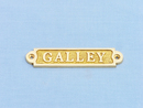 Handcrafted Model Ships MC-2202A-Brass Solid Brass Galley Sign 5