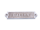 Handcrafted Model Ships MC-2202CH Chrome Galley Sign 6