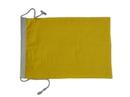 "Handcrafted Model Ships Nautical-Flag-Q Letter Q Cloth Nautical Alphabet Flag - 20"""