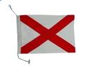 """Handcrafted Model Ships Nautical-Flag-V Letter V Cloth Nautical Alphabet Flag - 20"""""""
