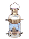 Handcrafted Model Ships NL-1118-10 Solid Brass Anchor Oil Lantern 12