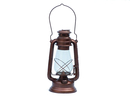 Handcrafted Model Ships NL-1134 AC Antique Copper Hurricane Oil Lantern 19
