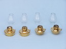 Handcrafted Model Ships NL-1141 Solid Brass Table Oil Lamp 5