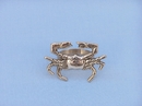 Handcrafted Model Ships NR-12-BR Brass Crab Napkin Ring 3