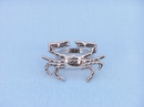 Handcrafted Model Ships NR-12-N Chrome Crab Napkin Ring 3