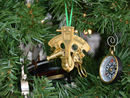 Handcrafted Model Ships NS-0454-XMASS Brass Nautical Sextant Christmas Tree Ornament