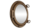 Handcrafted Model Ships NT-HX057-M Bronzed Porthole Mirror 20