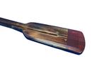 Handcrafted Model Ships Oar 36-306 Wooden Lockwood Squared Rowing Oar w/ Hooks 36