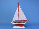 Handcrafted Model Ships PS-RED Pacific Sailer 17